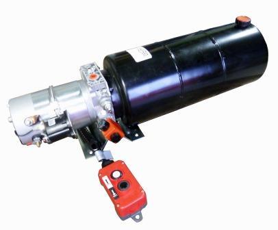 12V - 9 0 Lt TANK : HYDRAULIC POWER PACKS : HYDRAULIC